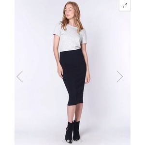 Veronica Beard Vail Pencil Skirt, Blk-10